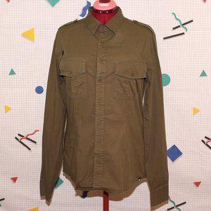 Dtox olive green shirt